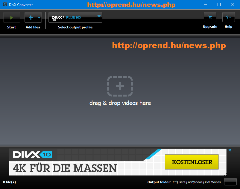oprend.hu/infusions/downloads/images/screenshots/divx_plus_converter.png