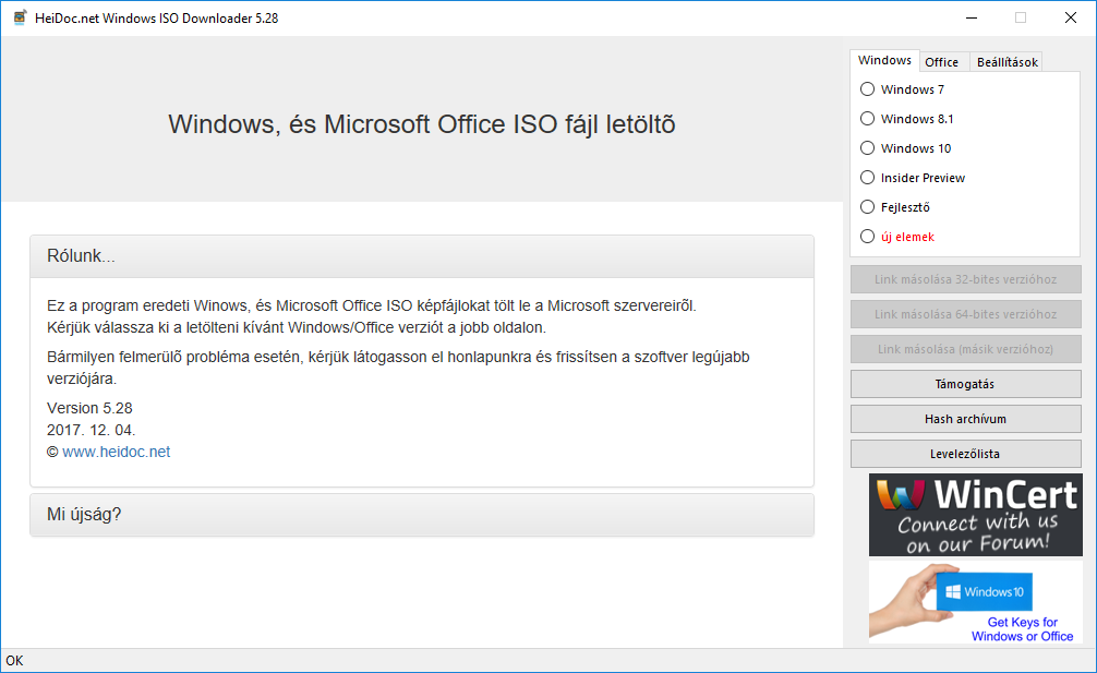 oprend.hu/infusions/downloads/images/screenshots/heidoc_microsoft_windows_and_office_iso_download_tool.png