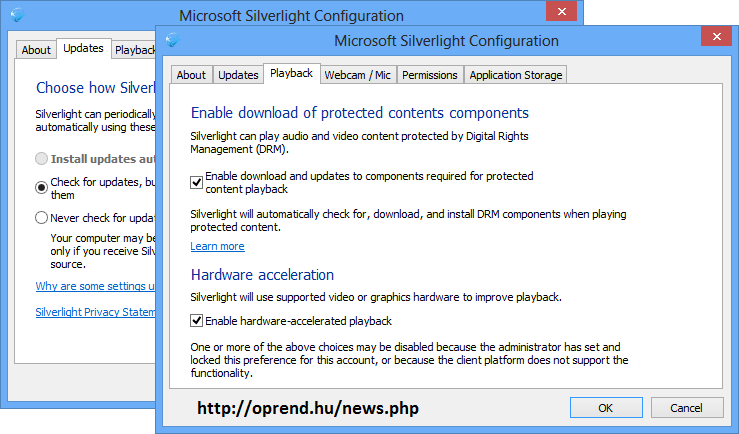 oprend.hu/infusions/downloads/images/screenshots/microsoft_silverlight_settings.png